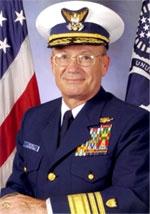 Jim Hull. VADM USCG (ret.)