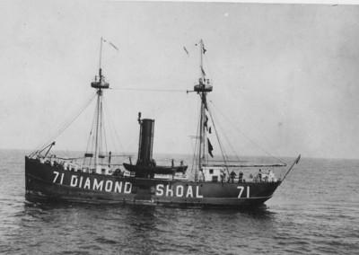 NOAA To Survey Wreck of the Diamond Shoals Lighthship (No. 71)