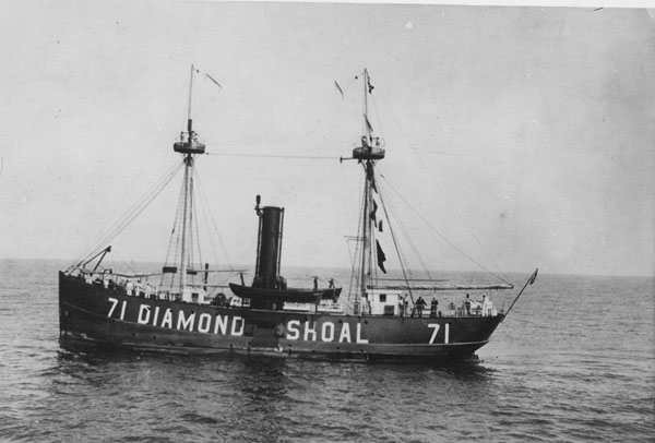 NOAA To Survey Wreck of the Diamond Shoals Lighthship (No. 71)
